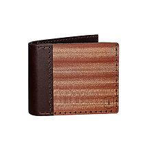 Peňaženky - Drevená peňaženka Red Virilia - 8652071_