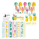 - Predobjednávka na sadu papierov Summertime 15,2x15,2cm - 8654243_