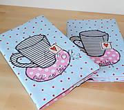 Receptár / zápisník - Pozvanie na Čaj o piatej :)