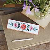 Krabičky - Ručne maľované puzdro