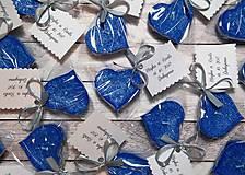 Darčeky pre svadobčanov - Svadobná plávajúca sviečka .:kráľovsky modré hrozno:. - 8655044_