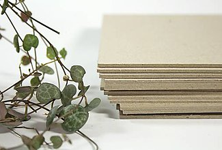 Polotovary - Knihárska lepenka A4 (2mm) - 8652243_