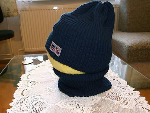 477dfbc7ebf Detská pletená čiapka   HankineHabky - SAShE.sk - Handmade Detské čiapky