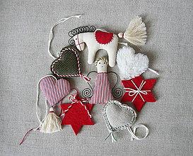 Dekorácie - Sada vianočných ozdôb 2 - 8652547_