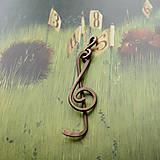 Náhrdelníky - Houslový klíč - 8652013_