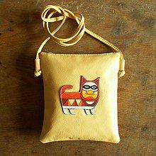 Kabelky - Kocour Citron - crossbody kožená taška - 8652410_