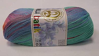 Galantéria - Camilla batik - Mix modro ružová č.0101 - 8655531_