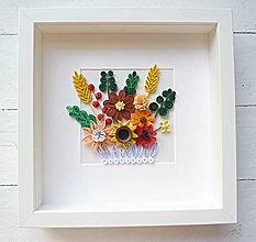 Dekorácie - poľné kvety - 8653846_
