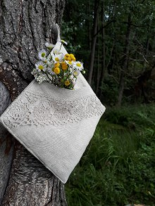 Úžitkový textil - Ľanová kuchynská chňapka Linen Ecstasy - 8655144_
