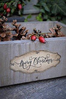 Nábytok - Vianočná debnička na objednávku - 8654860_