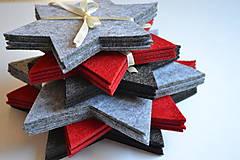 Úžitkový textil - Vianočné podšálky - 8659421_