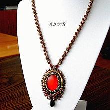 Náhrdelníky - Korálkový náhrdelník 589-0046 - 8659834_