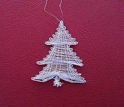 Dekorácie - Paličkovaná ozdoba - stromček - 8656695_