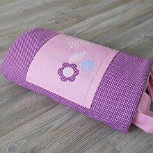 Úžitkový textil - Zástena Na fialovej lúke - 8658098_