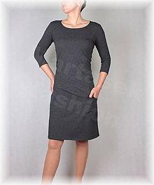 Šaty - Šaty volnočasové vz.375 (více barev) (Hnedá) - 8657285_