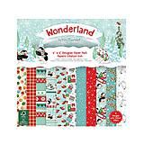 - Papierová sada 15,2x15,2cm Helz Cuppleditch Wonderland - 8658641_