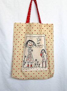 Nákupné tašky - Taška - Ako moja mama (3) - 8656553_