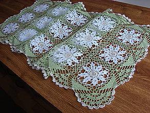 Úžitkový textil - háčkovaný obrús