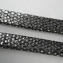 Galantéria - Remienok plochý 10mm-20cm - 8659476_