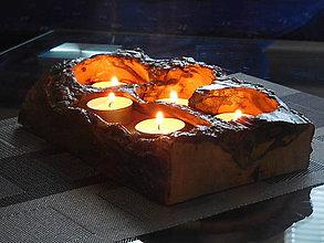 Svietidlá a sviečky - svietnik - 8657642_