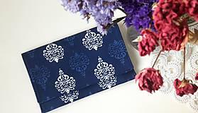 listová kabelka Modrotlač-ka