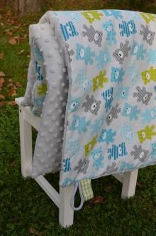 Textil - Deka - macíky - 8659672_