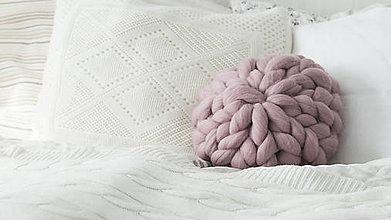 Úžitkový textil - ♦Merino vankúš z ovčej vlny♦ - 8656305_