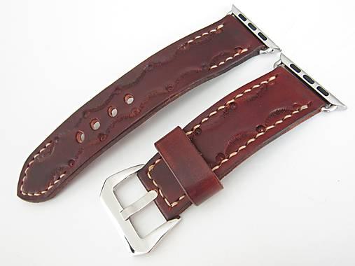 02d490ab3 Kožený remienok pre Apple hodinky - hnedý / leon - SAShE.sk ...