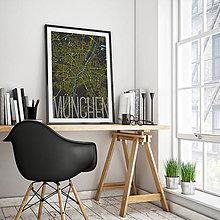 Obrazy - MNÍCHOV, elegantný, čierny - 8659286_
