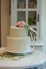 dekoračný box / svadobná torta Rose