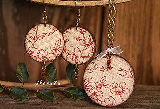 Sady šperkov - Floral natural - 8659098_