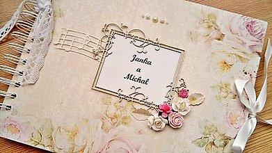 Papiernictvo - romantický svadobný album - 8656649_