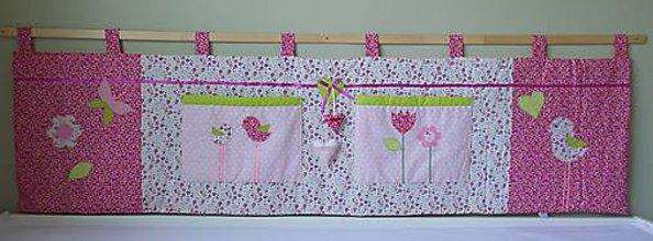 Úžitkový textil - Zástena Ružová #3 - 8659984_