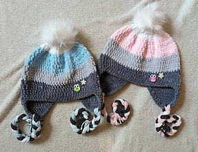 Detské čiapky - Plyšová pre chlapca či dievča :) - 8661373_