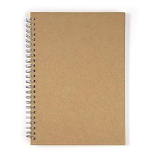 Polotovary - Zápisník špirálový A5 - 2 kusy - 8662990_