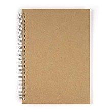 Polotovary - Zápisník špirálový A6 - 3 kusy - 8663068_