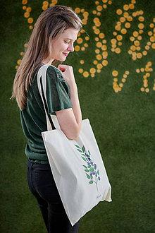 Nákupné tašky - SAShE taška (Čučoriedka) - 8662130_