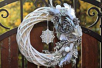 Dekorácie - Vianočný veniec - 8662284_