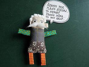 Magnetky - Dedko ako Franc Jožka - poskladaj si RODINKU - 8662038_