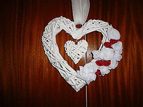 Dekorácie - svadobné srdce I. - 8662912_
