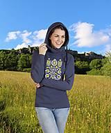 Mikiny - Mikina kvety  - ľudový motív  2 - rôzne farby - 8661296_