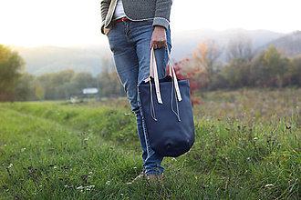 Veľké tašky - City jungle_modrá - 8663769_