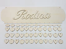 Polotovary - Rodinný kalendár A1 (najväčší výber kombinácii) - 8660130_