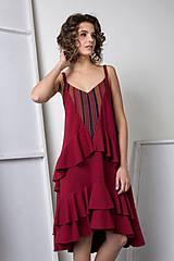Šaty - Bordové šaty Florence - sleva ze 113 na 90!!! - 8662078_