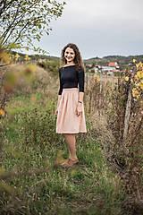 Sukne - sivooranžová - 8661929_