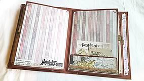 Papiernictvo - Veľký TRAVEL album pre párik cestovateľov - 8661197_