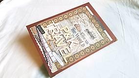 Papiernictvo - Veľký TRAVEL album pre párik cestovateľov - 8661199_