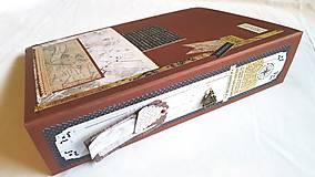 Papiernictvo - Veľký TRAVEL album pre párik cestovateľov - 8661200_
