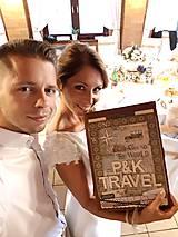 Papiernictvo - Veľký TRAVEL album pre párik cestovateľov - 8661209_
