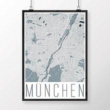 Obrazy - MNÍCHOV, moderný, svetlomodrý - 8662317_